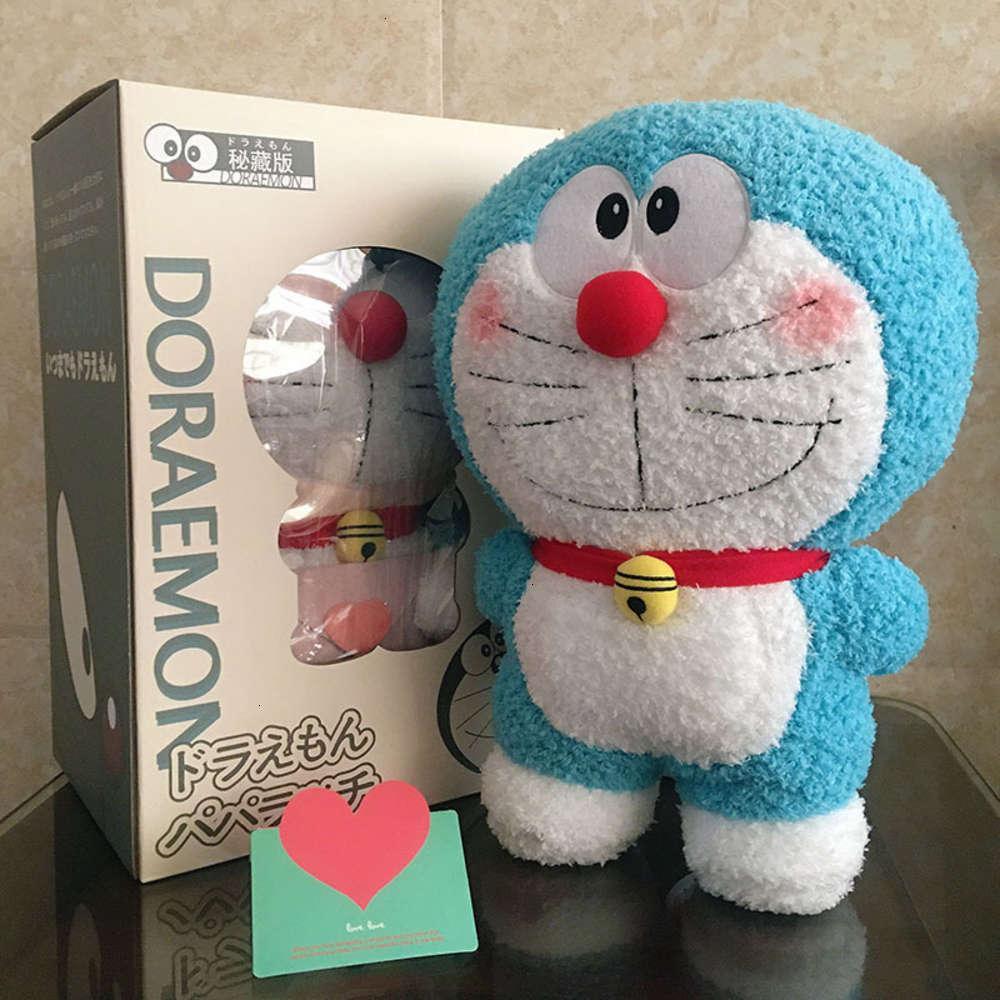 Animaux en peluche étouffés Puissance physique Dingdang Doraemon Doraemon Robot Poupée Cat Blue Fat Creative Creefow Girl
