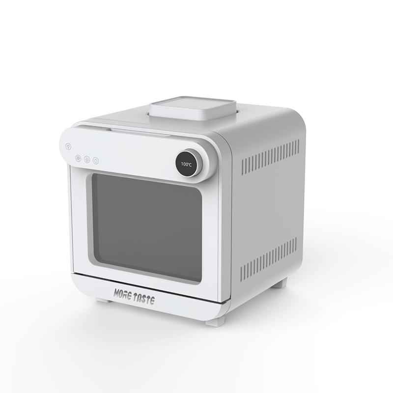 Branco cor fritadeira de vapor combo grande capacidade de 15qt cozinhar rápido 500 ° forno