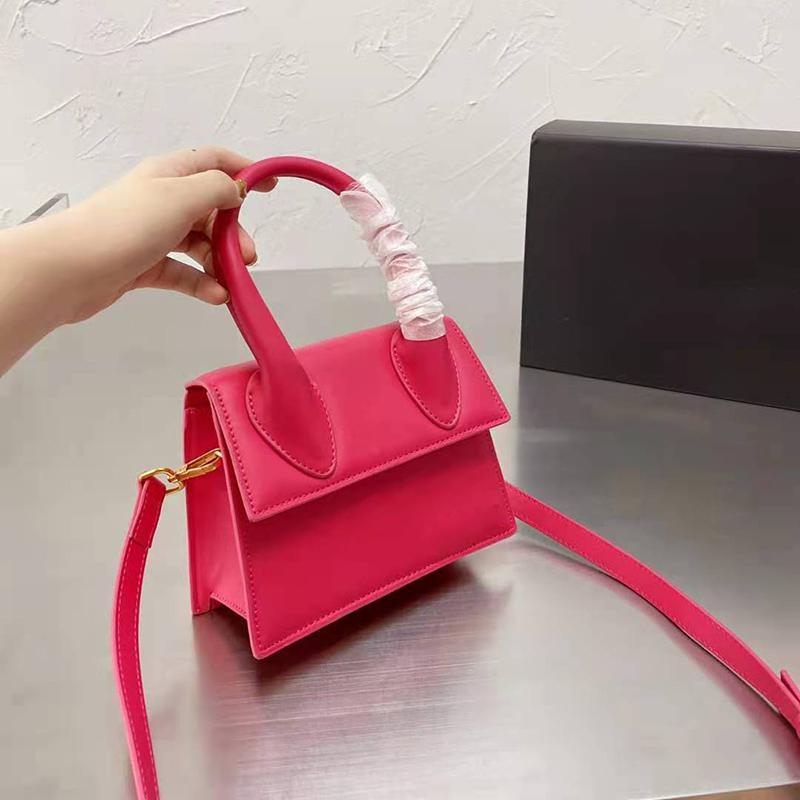 Rosa Sugao Designer Crossbody Bag Small min Luxus Handtaschen Frauen Mädchen Mode Geldbörse mit gefalteten Kasten Hohe Qualität Nette Kreuz Körper Münze Xinyu07281
