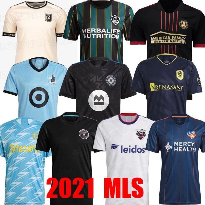 Acquista DHL MLS 2021 2022 Los Angeles La Galaxy Inter Miami Cf Soccer Jerseys 21 22 Cincinnati Atlanta D.C United LaFC Montreal Nashville Minnesota A ...