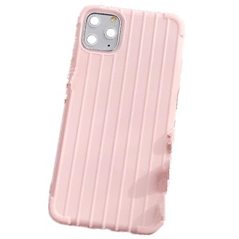 Silikon-Kasten für iPhone 11 Pro Max 4 Side XS XR 7 8 Plus Oberflächen Gepäck-Kasten Handy-Cover All-inclusive-Süßigkeit-Farben