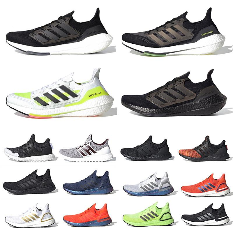 Ultra Boost 2021 Black Solar Herren Laufschuhe Gelb Ultraboost 20 Core Triple White 4.0 Grau Volt Männer Frauen Trainer Sportschuhe