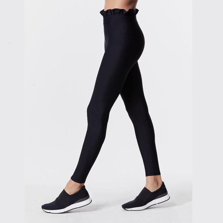 Leggings del pizzo di yoga di autunno che correvano fitness sportivo del sollevamento dell'anca