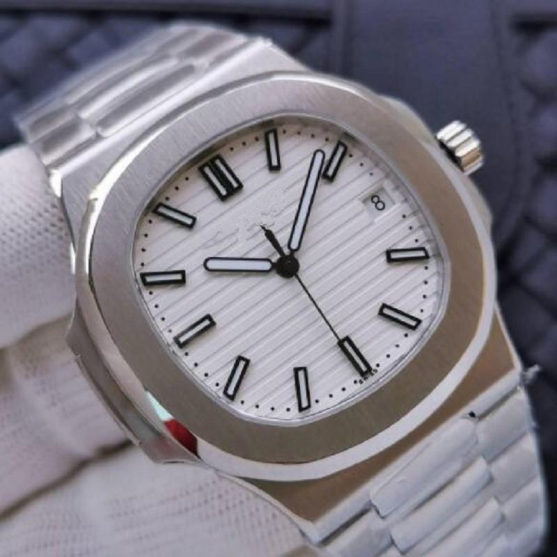 U1 заводские движения выгравированные мужские часы PP автоматическая механическая нержавеющая сталь прозрачный задний синий циферблат мужские часы спортивные наручные часы