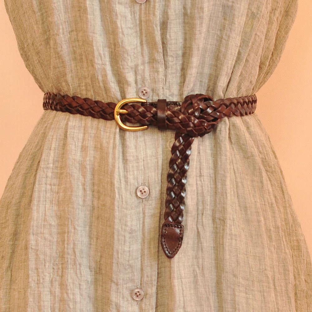 Belttwist Женское прекрасное украшение Рука сплетенная простая универсальная мода с юбкой платье