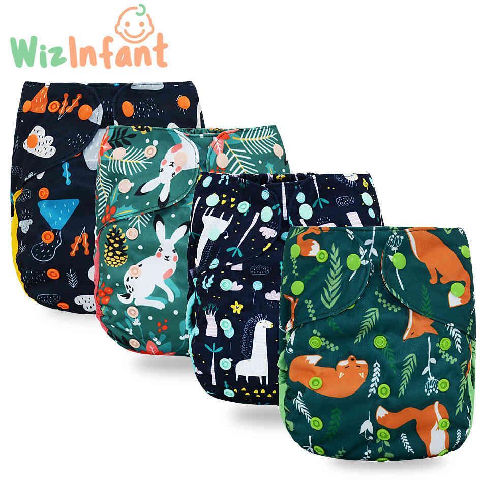 Wizinfant Big XL Pañal de tela para bebé de 2 años y mayores, el tamaño interior, el tamaño ajustable, el tamaño ajustable, la cintura 36-58 cm 210426