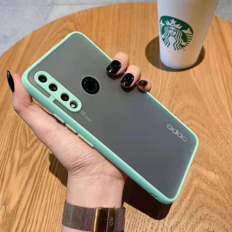 Skin Feeling Eye Protection Hybrid TPU+PC Matte Cases Cover FOR OPPO Reno 6 Pro Plus A91 A94 A95 100PCS/LOT