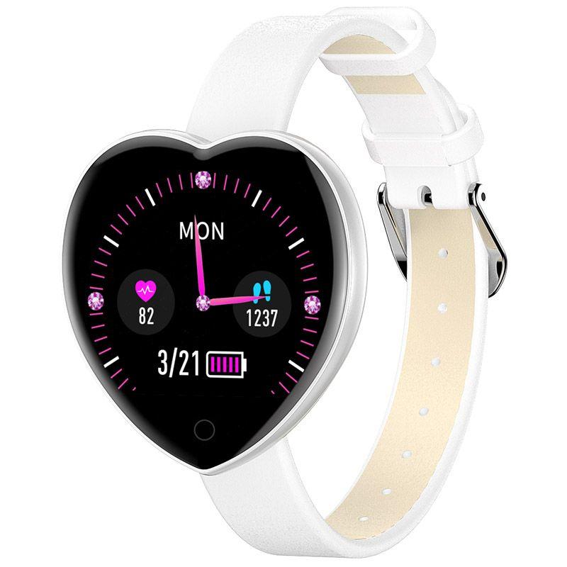 Smart Watch Bracciale Braccialetto Donna Sposa Bride Bluetooth Orologio Meteo Sport Smartband Sleep Telecamera Remota Telecamera Real-Time Car Heart Rate Monitor Fitness Tracker T52 Smartwatch