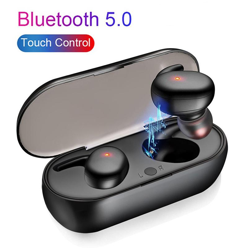 Y30 Wireless Blutooth 5.0 Earphones Noise Cancelling Headset HiFi 3D Stereo Sound Music In-ear Earbuds For Smartphone