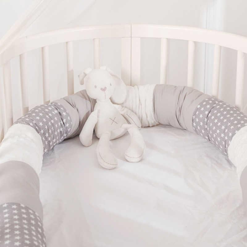 베이비 침대 쿠션 아기 침대 침대 범퍼 쿠션 룸 장식 주변의 아기 안전 보호 yzl009 Q0828