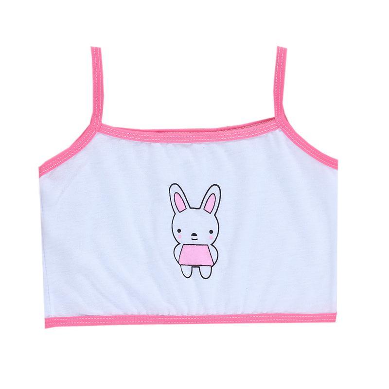 10pc / lot Kinder Unterwäsche Baumwolle Mädchen Tank Top Candy Farbe Unterhemd Mädchen Singlet Baby Camisole 8-14Y