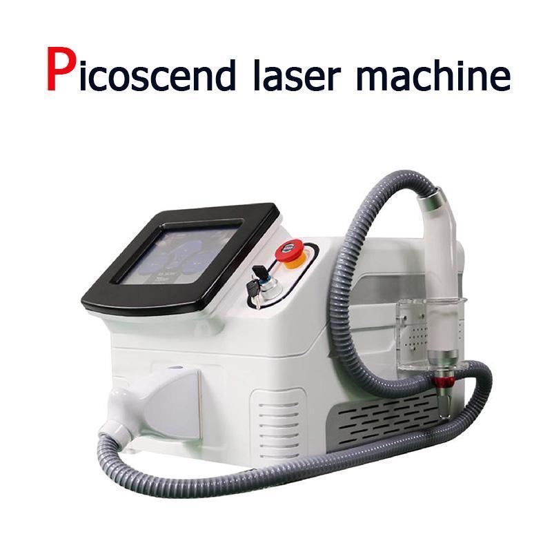 Taşınabilir 755/1064 / 532 / 1320nm siyah bebek picosecond lazer dövme temizleme