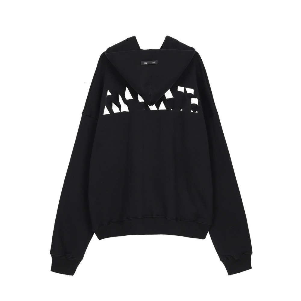 Miedo de la niebla de Dios Línea principal Limited Limited High Street letra Poja Swee Men's y suéter impreso para mujer Trend VIP
