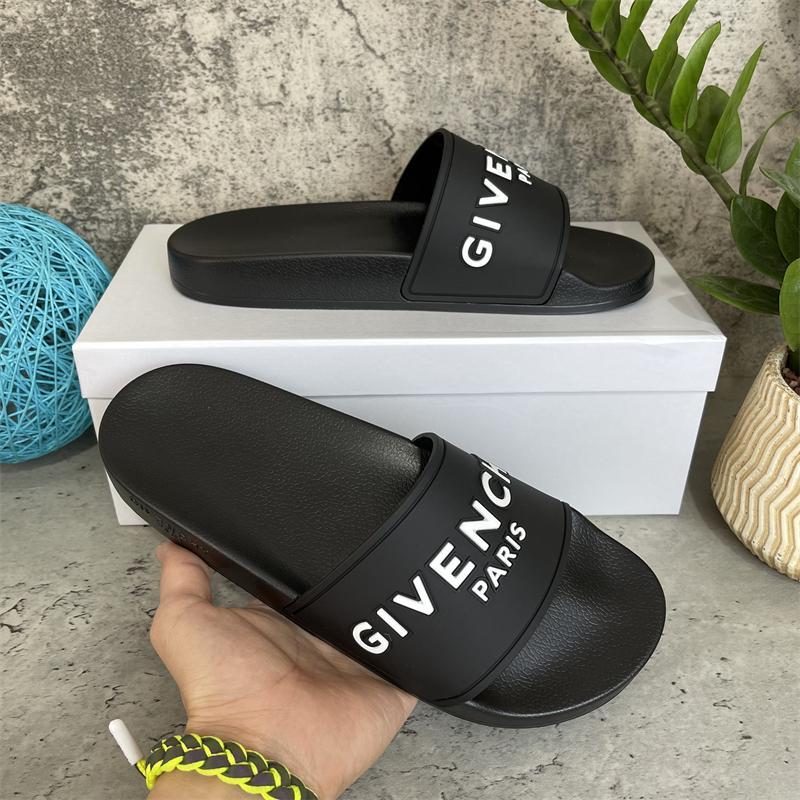 2021 رجل إمرأة النعال الصنادل أحذية جودة الشريحة الصيف أزياء واسعة النعال شقة فليب مع صندوق حجم EUR36-46