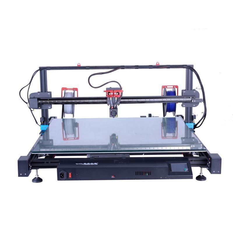 Impressoras Nivelamento Automático Industrial Letras de Impressora 3D de tamanho grande 820x820x150mm Usado para sinal de carta de publicidade