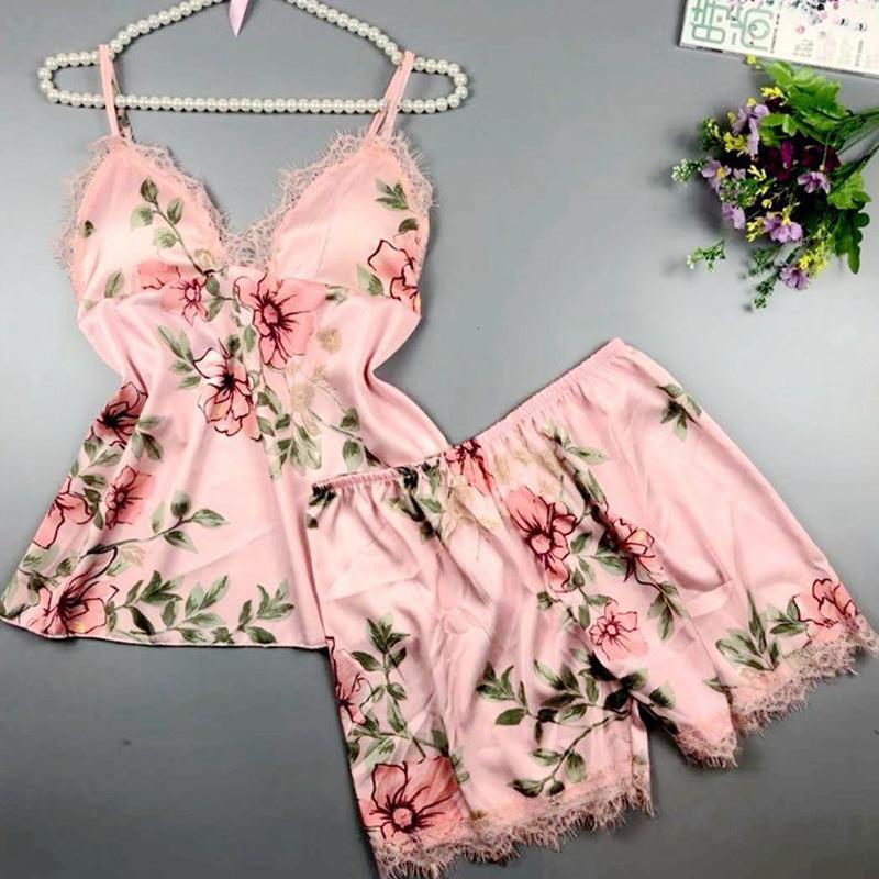 Sexy Seduction Sexy Lace Lingerie Suit Suspender Pajamas 40