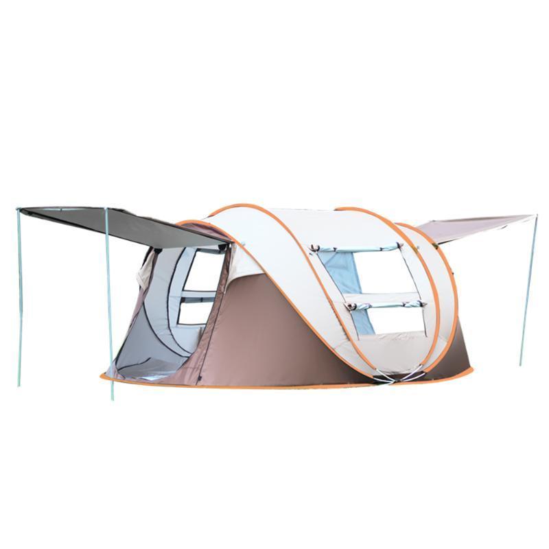 حفلات في الهواء الطلق 3-8 شخصيات التلقائي خيمة الأسرة كبيرة للماء التخييم التنزه شاطئ المحمولة الظل والملاجئ