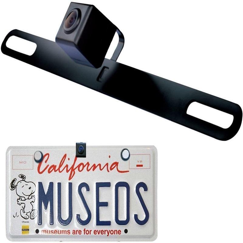 Автомобильные Вид сзади Камеры Паркинг Датчики ATOTO AC-4486 Водонепроницаемая высокая четкости Скрытая / скрытая лицензионная камера плиты