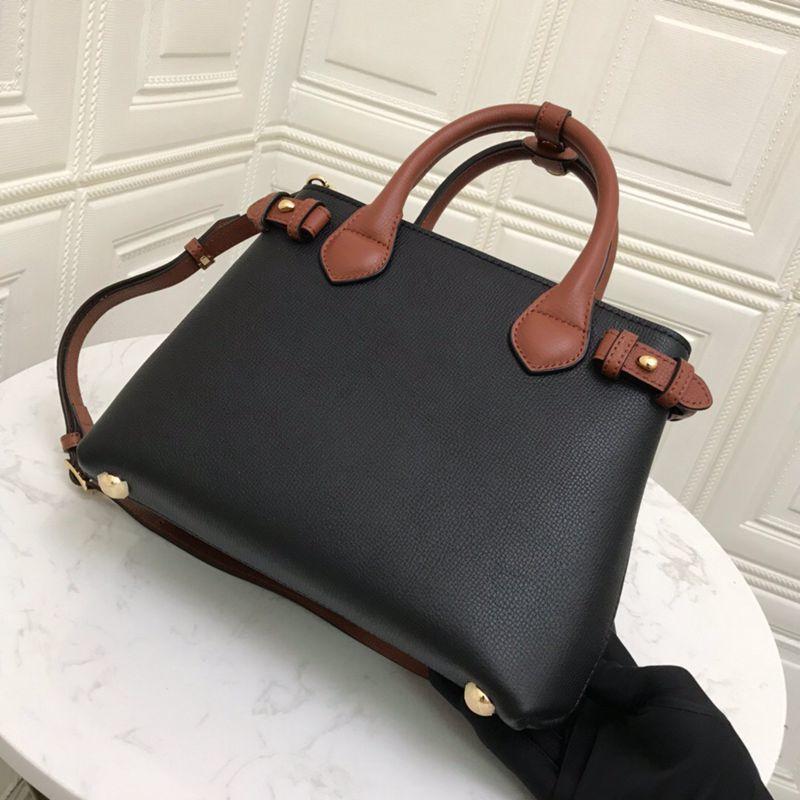 가방 가방 어깨 유명한 여성 브랜드 가죽 품질 핸드백 여성의 럭셔리 디자이너 Verastore 26cm 암소 학년 여성 Tsjid