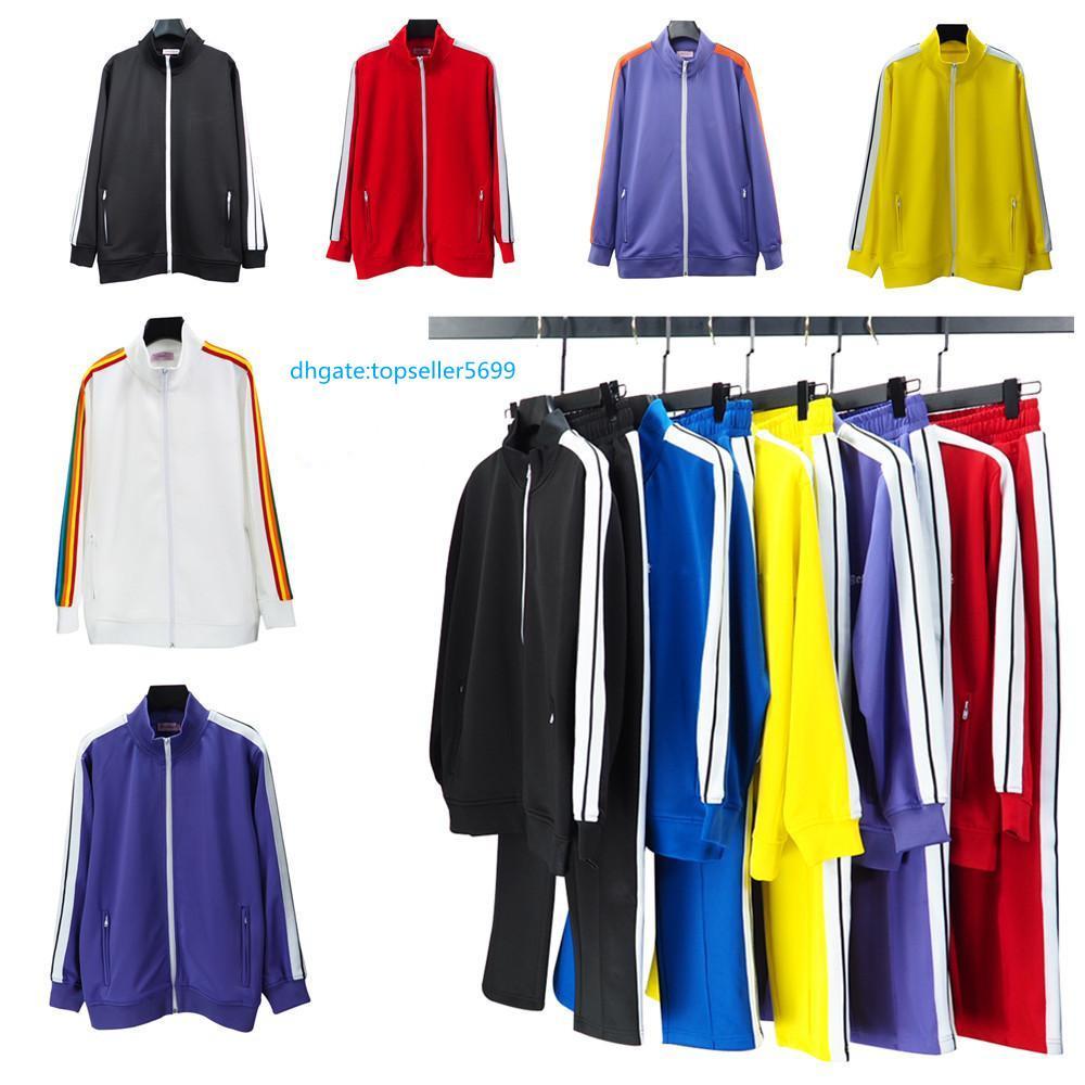 Tasarımcı Giyim 2021 erkek Spor Ceket Hoodie kadınların Gündelik Koşu Takım Avrupa S-XL