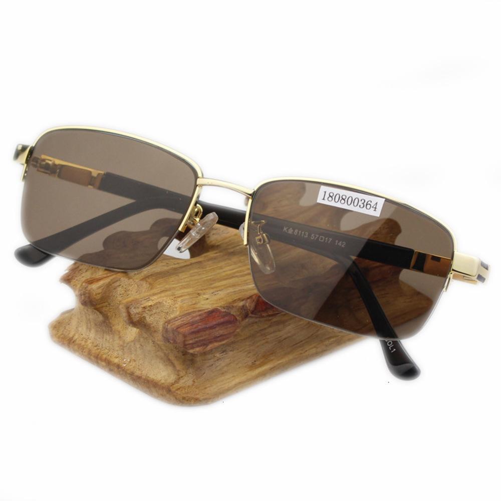 Enviar la certificación Glasses de piedra de cristal natural para hombres anti-radiación para hombres para mujeres de mediana edad y ancianos