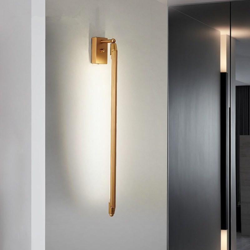 Lámpara de pared Nordic Rotate Modern T5 LED Oficina de Estudio Luces Colgantes Dormitorio Suspensión Luminaria Restaurante Decoración Iluminación