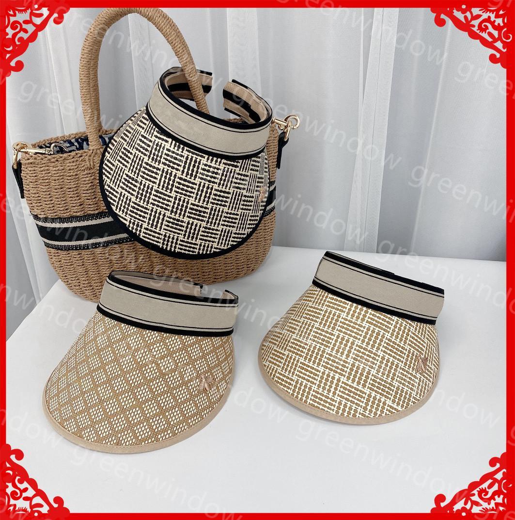Luxurys Designers Woman Caps 2021 Fashion Mens Hats Bee Empty Top Hat Beach Womens Casual Straw Cap Breathable Sun Hat Bonnet Gorra Boné