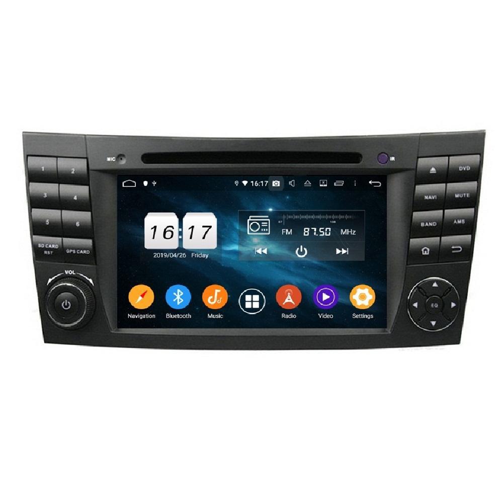 "4GB + 128GB PX6 7 ""Android 10 자동차 DVD 플레이어 메르세데스 - 벤츠 E-Class W211 E200 / E220 / E240 / E270 / E280 CLS 클래스 W219 CLS-350 / CLS-500 / CLS-55 스테레오 라디오 GPS 와이파이 블루투스 5.0"