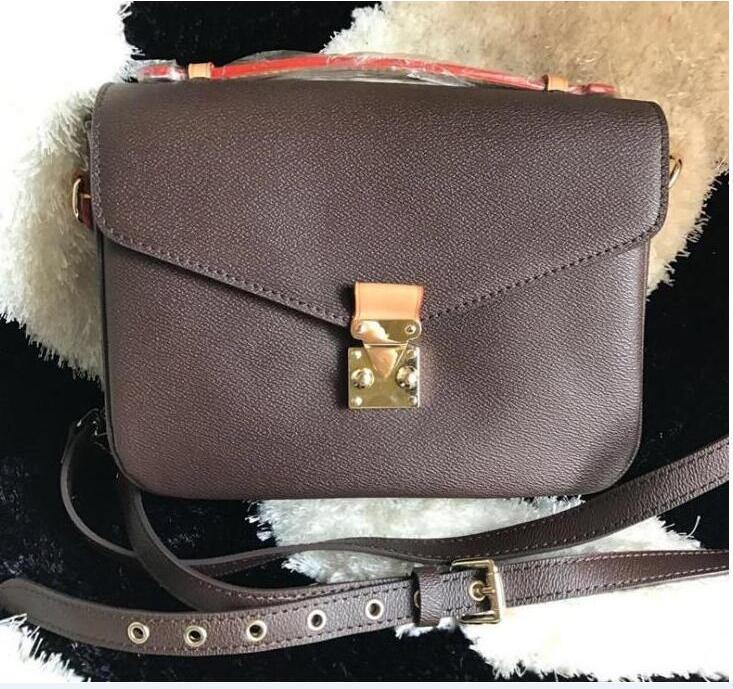 عرض خاص! إمرأة حقائب الكتف الكلاسيكية حمل حقيبة السيدات عارضة الجلود الأزياء حقائب الإناث crossbody رسول الاتجاهات لا شيء 919 # 26cm