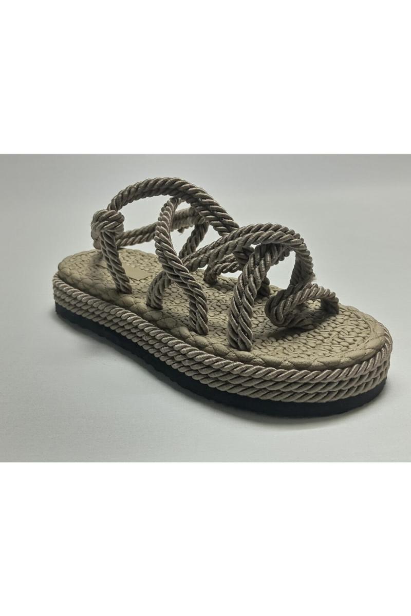 Sandali kaki da donna