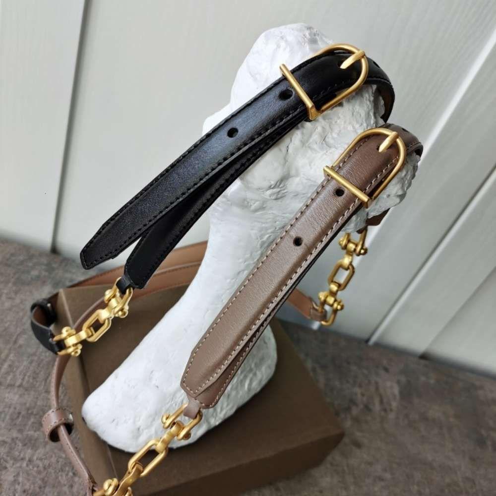 Acessórios de moda nicho design coreano fino cinto cintura elegante estilo luxo versátil estilo personalizado cadeia de couro splicing