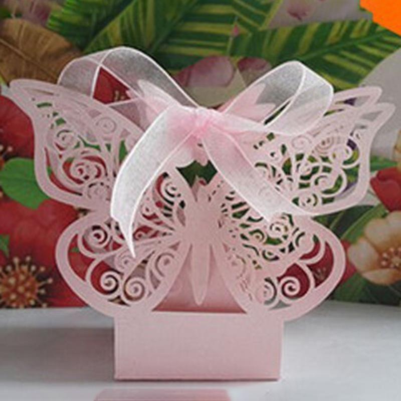 هدية التفاف 50 الزفاف التعميد استحمام الطفل حزب الإحسان مربع الشريط الجدول الحلوى صناديق السفر ورقة عيد ميلاد
