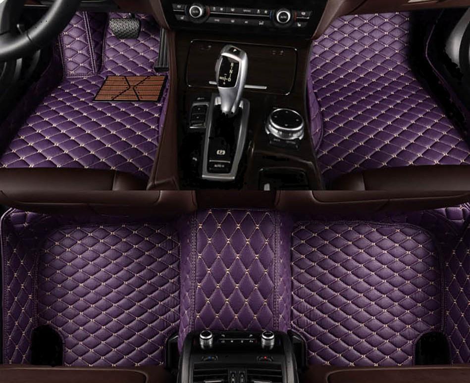 Colinas de piso personalizadas para Citroen C4 Grand Picasso C5 2010-2018 DS5 Cuero impermeable