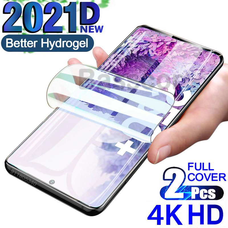 4K Screen Protectors on the For Samsung Galaxy S21 S30 S20 Ultra S9 S10 Plus Lite Hydrogel For Note 20Ultra No Glas