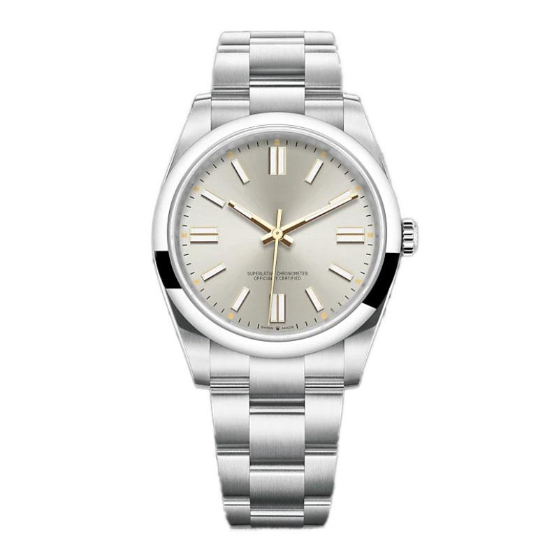 Lmjli-Mens автоматическое оборудование Часы 36 мм из нержавеющей стали супер светящиеся наручные часы женщины водонепроницаемые часы Montre de luxe
