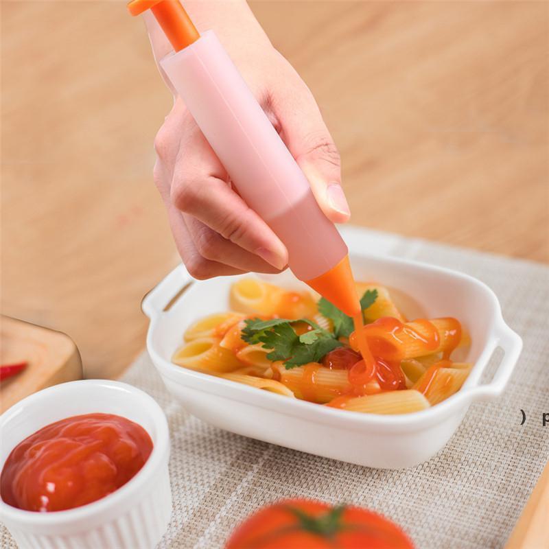 플라스틱 과자 가방 팁 주방 DIY 파이핑 크림 펜 재사용 가능한 생 과자 가방 세트 케이크 장식 도구 BWF6951