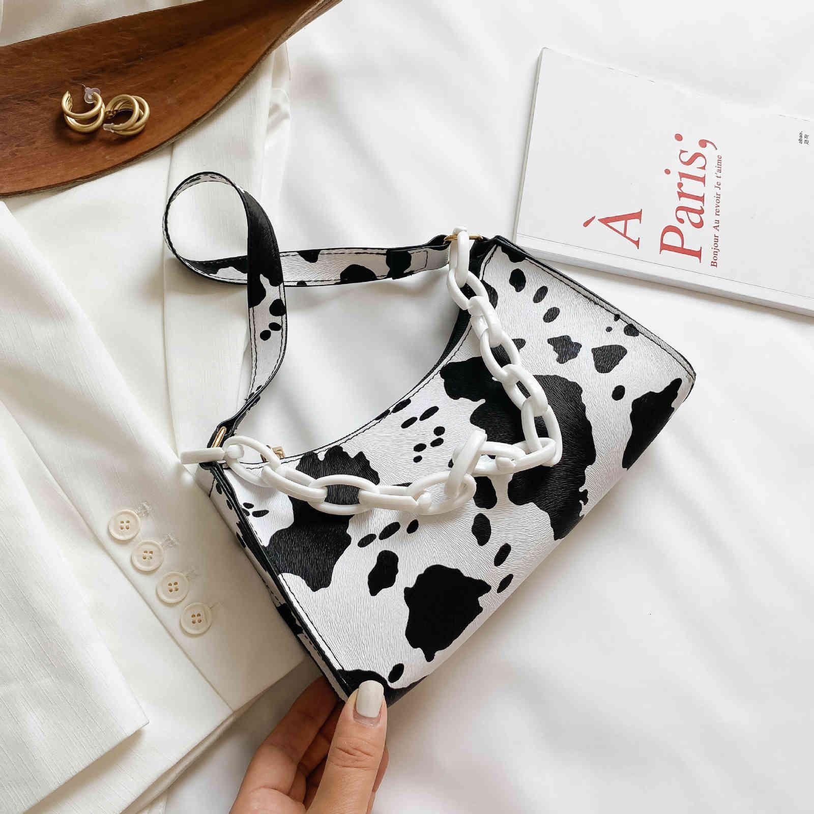 cow wallets Bag women's style crowdsourcing femininity French pattern armpit sti bag portable single shoulder