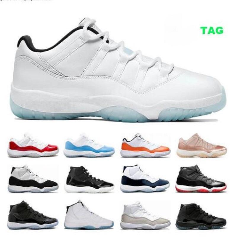 Low Legend الأزرق 11S jumpman أحذية كرة السلة للرجال النساء 11 25th الذكرى الوفيرة كونكورد 45 بريد حفلة موسيقية مدربين ليلة أحذية رياضية الحجم 13