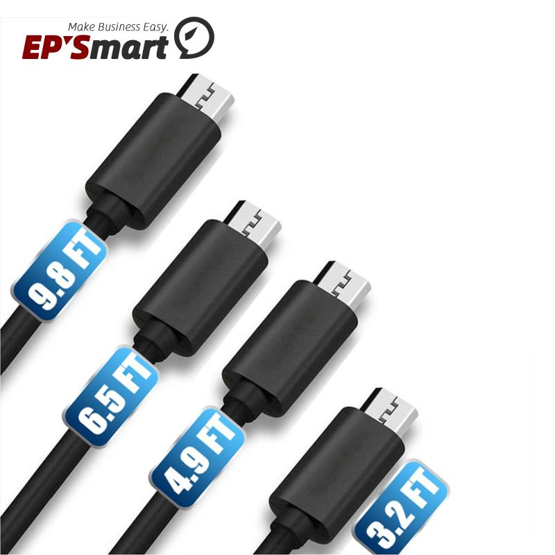 Premium 2A High Speed Micro USB Cable Type C Cables Powerline 4 Lengths 1M 1.5M 2M 3M Sync Quick Charging 2.0 For Samsung Galaxy S21 Note20 Ultra A52 Android Smart Phone