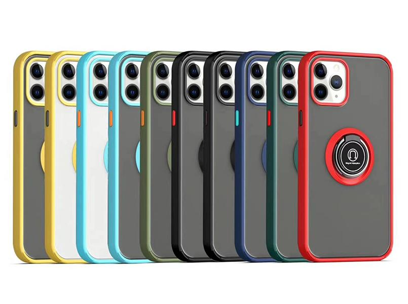 Smoke Ring Case for iphone 13 12 11 pro max xr Magnetic stand Case Samsung S21 Ultra A52 A72 A21 A12 A32 5G