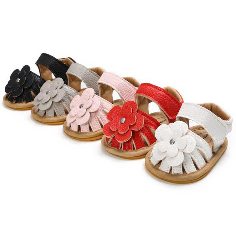أول مشوا الطفل أحذية طفل الفتيات الأحذية الصنادل الأميرة الرضع الأخفاف لينة المشي B4469