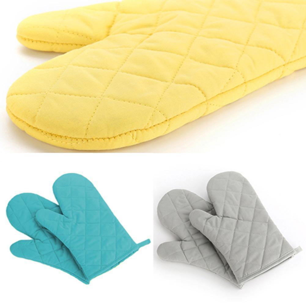Baumwollofen MITT Hitzedichte Widerstandsresistente Protektor Küche Kochen Topfhalter Handschuh