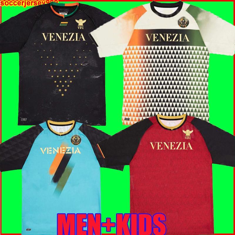 21 22 Venezia FC Futbol Formaları Ev Uzakta Aramu Forte Fiordilino Peretz Hizmans Tessmann Crnigoi 2021 2022 Mariano Johnsen Mazzocchi Futbol Gömlek Erkekler Kiti Setleri