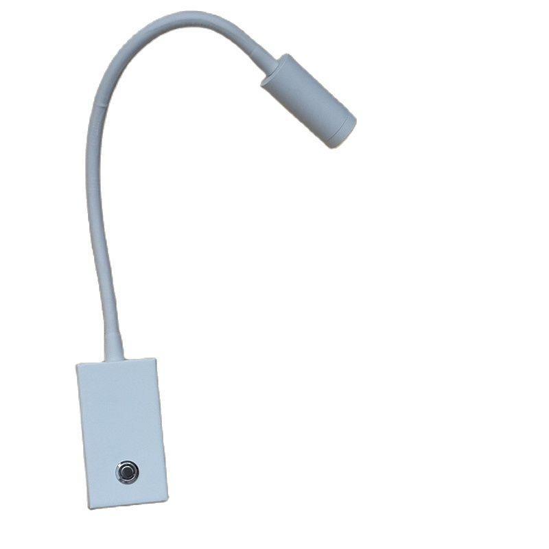 Topoch Lamp Lamp Dimmer Blue Mood Light Touch On / Off / Interruttore Dim Angolo di illuminazione regolabile Lente di messa a fuoco 3W per camera da letto Camper Barche