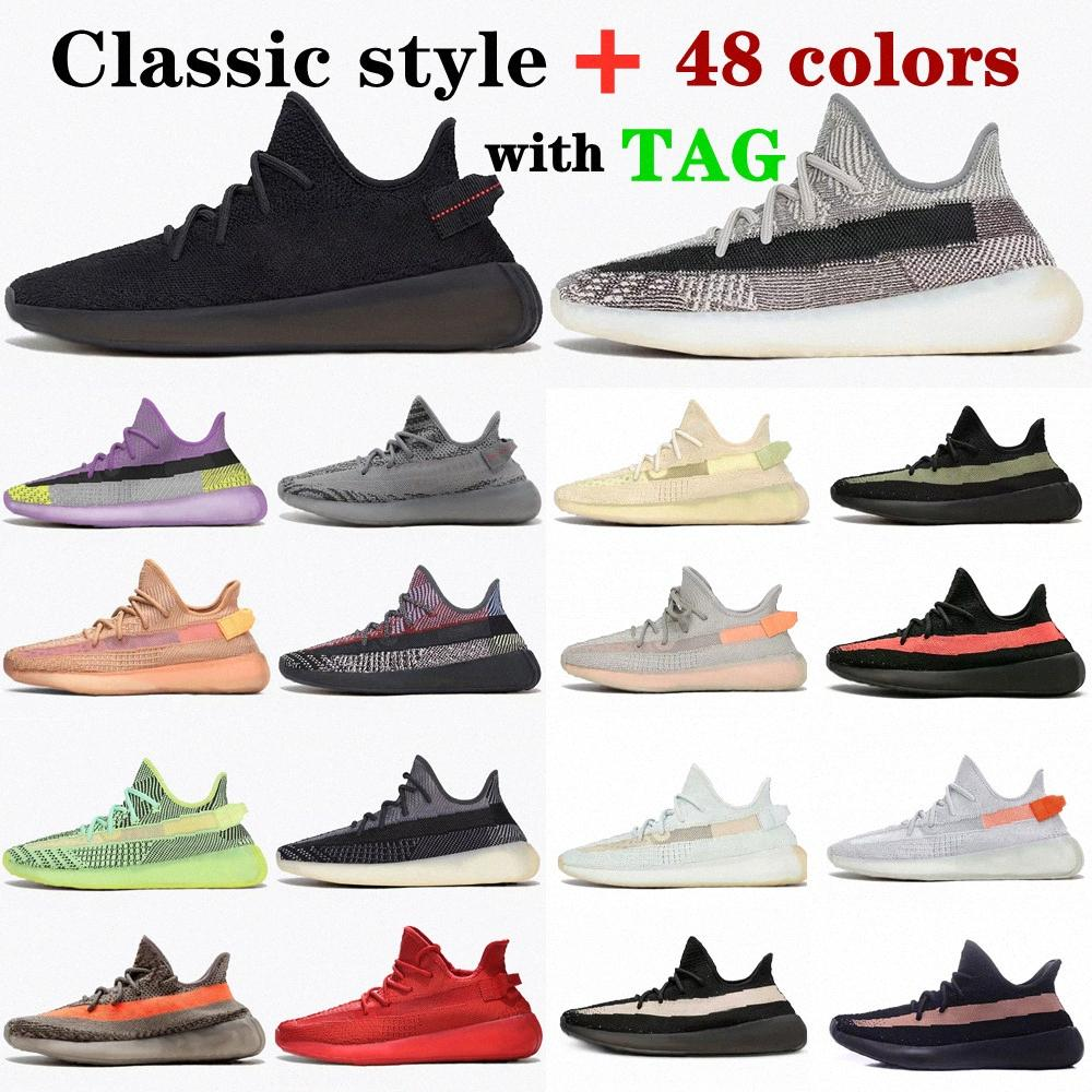 2021 top quality v2 Sneakers kanye west casual Running Outdoor shoes 3M reflective mens womens sneaker shoe yeezys boost 350 yezzy yezzys size 36-45