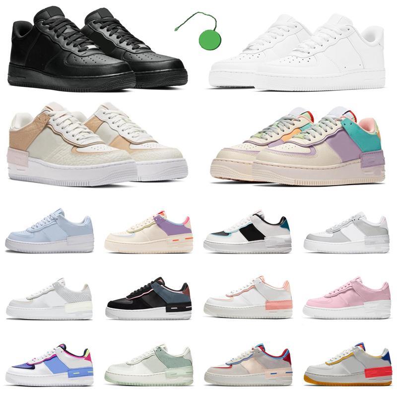 force 1 af1 one shoes shadow chaussures de plate-forme de mode ombre hommes femmes chaussure de course hommes formateurs baskets de sport chaussures scarpe