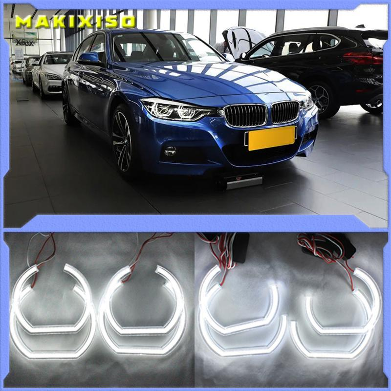 Outros sistemas de iluminação DTM estilo de cristal diodo emissor de luz diodo emissor de luz de anjos halo anéis para x3 f25 2010-2014 halogênio farol carro estilo 2013 201