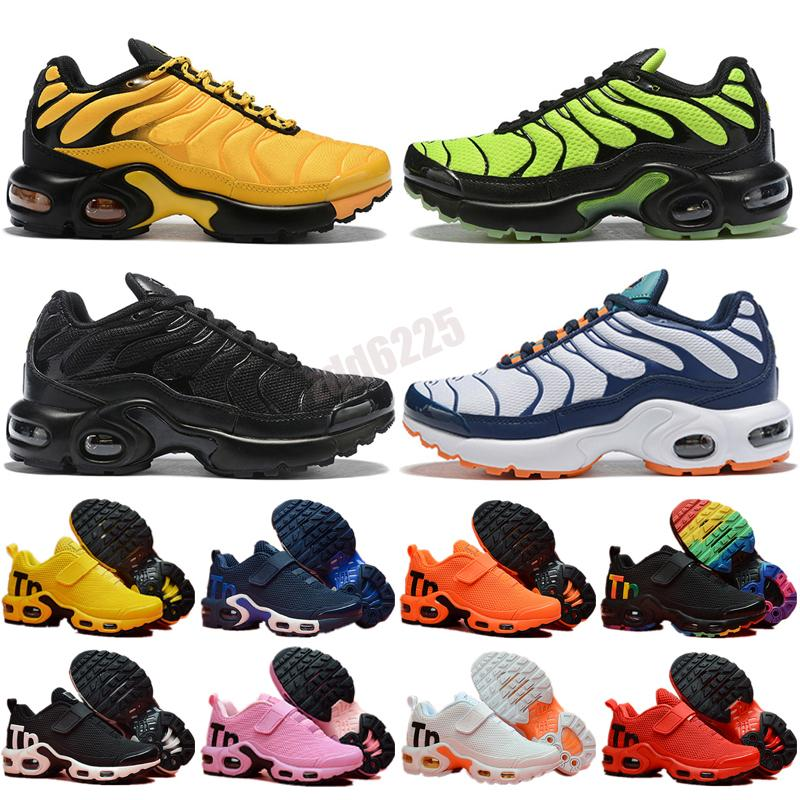 Preferential sale tns plus Ultra Shoes Zebra Classic Kids Outdoor Run tn cushion Sport Shock runner Sneakers Mens requin