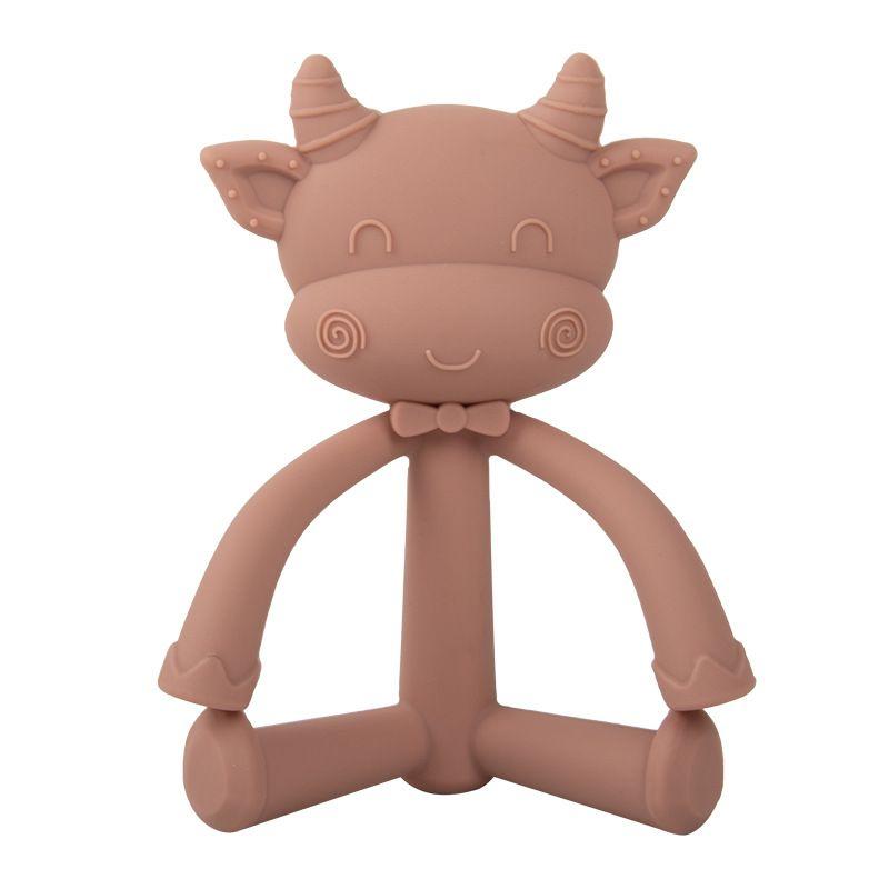 Baby Teether الحلمة اللهايات سيليكونا بيبي سيليكون السلامة تغذية لدغة الغذاء تقويم الأسنان الحلمات OOD5874