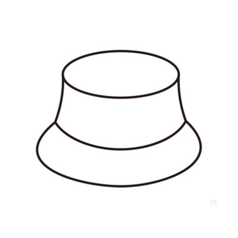 Мужские и женские шапки Рыбацкие шляпы Летние шапки могут быть вышиты и напечатаны HKW4F